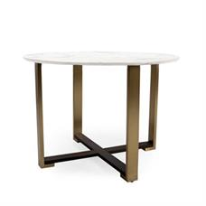 "Kent 42"" Round Sintered Marble Table"