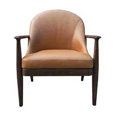 Elena Leather Lounge Chair