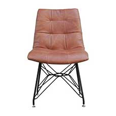 Oscar Leather Side Chair