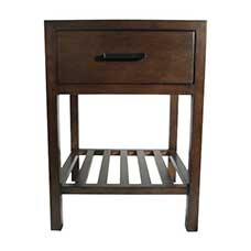 "Metro 18"" Chestnut Nightstand"